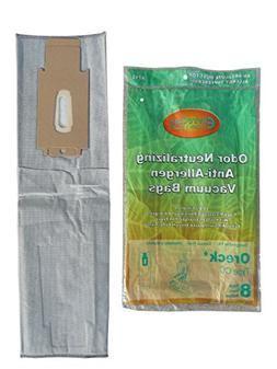 8 Oreck Type CC Upright XL HEPA Vacuum Cleaner Bags