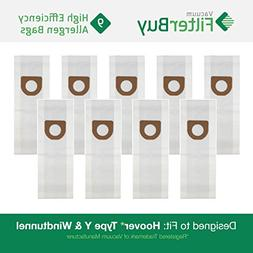 9 - FilterBuy Hoover Windtunnel Upright Type Y Compatible Va