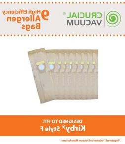 Think Crucial 9 Replacement for Kirby F Paper Bags Fit Ultim