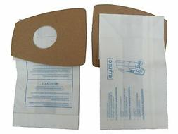 9 Eureka C Allergy Mighty Might canister Vacuum Bags, White