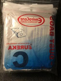 9 Eureka C Mighty Might canister Vacuum Bags!