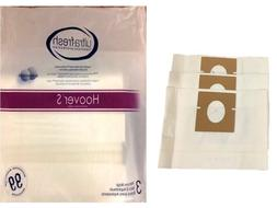 12 Vacuum Bags for HOOVER Vacuum Windtunnel, Futura, and Spe