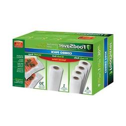 FoodSaver Replacement Rolls Combo Pack