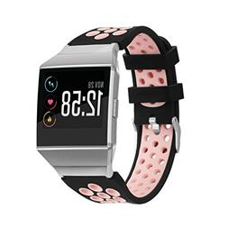 For Fitbit Ionic Smart Watch,Creazy Soft Silicone Replacemen