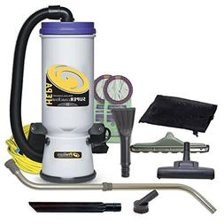 ProTeam Commercial Backpack Vacuum Cleaner, Super CoachVac V