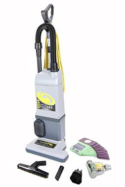 GV Proteam Proforce 1200xp Upright Vacuum Cleaner Loaded w.