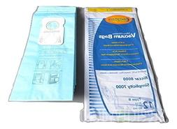 Riccar Simplicity Type B Upright Microlined Paper Bags 12 PK