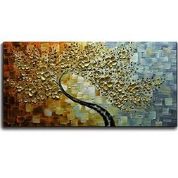 V-inspire Abstract Paintings, 20x40 Inch Paintings Oil Hand