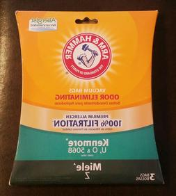 Arm & Hammer Odor Eliminating Vacuum Bags, Kenmore U & O 506