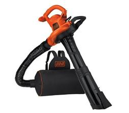 Black & Decker BEBL7000 3-in-1 VACPACK 12 Amp Leaf Blower, V