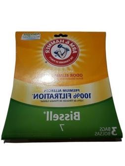 BISSEL #7  3 Vacuum Cleaner Bags Arm and Hammer Allergist Od