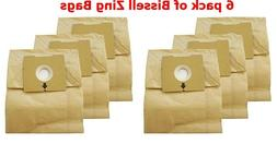 Bissell Type 2138425 Vacuum Bags Micro Lined Allergen 4122 Z
