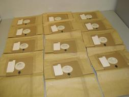 BISSELL VACUUM BAGS 12 PACK MADE TO FIT ZING 4122 CANISTER 2