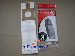Dirt Devil Broom Vacuum Cleaner Type K Bags 3 Pk Genuine Par