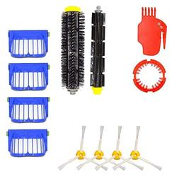 Euone Brush Filters, Replacement for 1Pcs Flexible Beater Br