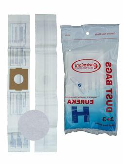 Eureka Canister Vacuum Bag Style H Fits Eureka Peggable Poly
