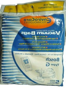 Bosch Canister Vacuum Cleaner Bags, EnviroCare Replacement B