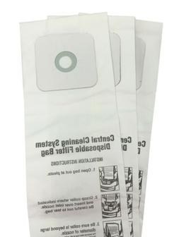 CENTRAL VACUUM BAGS for Nutone 391, 391-8, 3918, 44186 3-Pac