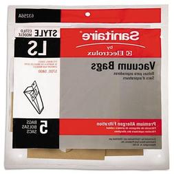 Commercial Upright Vacuum Cleaner Replacement Bags, 5/Pack -