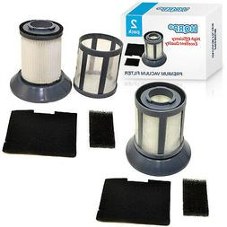 2x HQRP Dirt Cup Filters fits Bissell 2031532 Zing 6489 6489