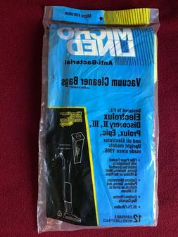 discovery prolux epic style u vacuum bags