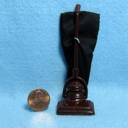 Dollhouse Miniature Old Fashion Upright Vacuum with Bag  IM6