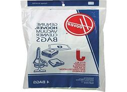Hoover DVC Type J Canister Vacuum Paper Bags 4 PK # 4010010J