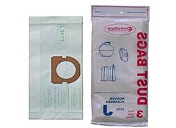 Hoover DVC Type J Canister Vacuum Paper Bags 4 PK # 114SW
