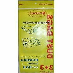 Eureka Canister Style B and S Single Wall Vacuum Bags - 10 P
