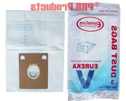 Eureka Style V Vacuum Allergy Bag Rally Home Cleaning System