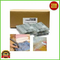 Extra Large Vacuum Storage Bags Space Saver Bedding Pillow T