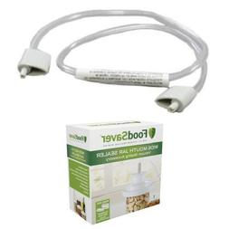 FoodSaver FAX12-000 Accessory Hose and Wide-Mouth Jar Sealer
