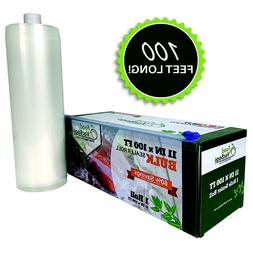 100-Feet Food Saver Compatible Vacuum Sealer Bag Roll with C