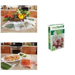 Food Saver Vacuum Sealer Rolls Storage Container Seal Bags M