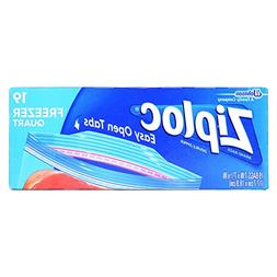 Ziploc Freezer Bags, Pint Size - 20 ct - 2 pk