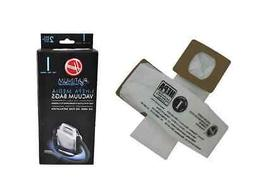 Genuine Hoover Cloth Type I HEPA Vacuum Bags AH10005 Platinu