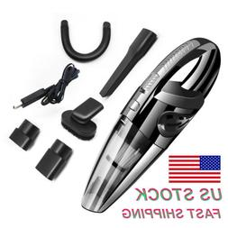 Handheld Auto Cleaner Wet&Dry Vacuum Black Strong Cordless C