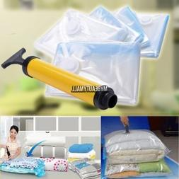 5 PACK JUMBO Space Saver Bags Storage Bag Vacuum Seal Organi