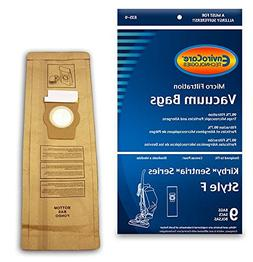 EnviroCare Replacement Vacuum Bags for Kirby Style F 9 Pack