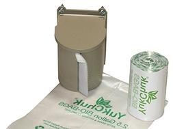 YukChuk Kitchen Food Waste collection Kit ; 25 x 2 ½ gallon