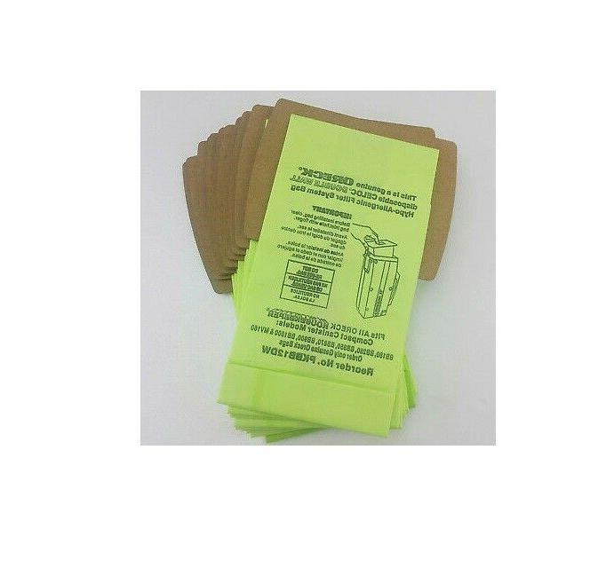 12 Buster Canister Bags Bag +