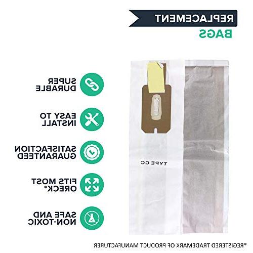 Crucial Replacement Compatible With Type CC Cleaner - Pair with PK80009DW PK80009 68710-6 687106 and Models XL21,