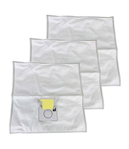 3 Kenmore HEPA Style Type C Cloth Allergen Bags Designed To