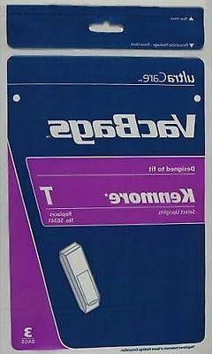 3 Kenmore Type T 641073-052 Upright Vacuum Cleaner Bags 5062