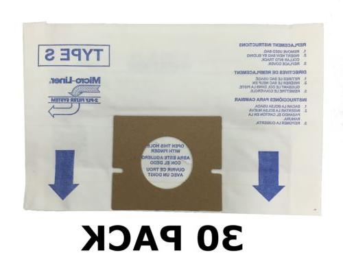 30 ALLERGEN Bags for HOOVER Vacuum Windtunnel, Futura, and S