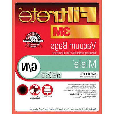 3M Filtrete MIELE Style G N  Vacuum Cleaner Bags and Filters