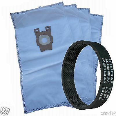 4 universal cloth bags and 1 belt