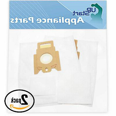 4 Vacuum Bags & 4 Micro Filters for Miele S194 Quickstep, Ty