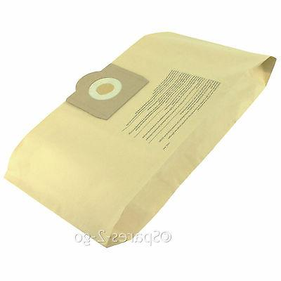 5 x GOBLIN AQUAVAC Vacuum Cleaner Dust Bags Canister Hoover