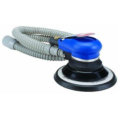 6 Inch Central Pneumatic Self-Vacuuming Air Palm Sander with